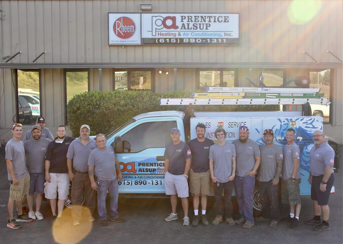 Prentice Alsup Heating and Air Team